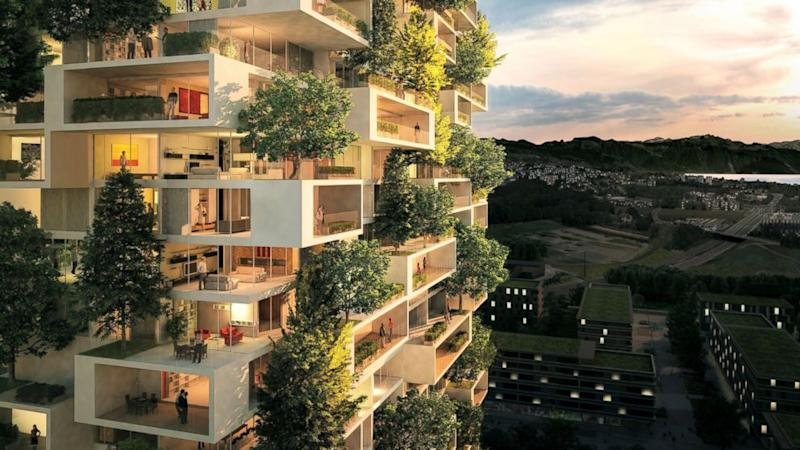 Architect Designs What May Be the Tallest Apartment Building Covered ...