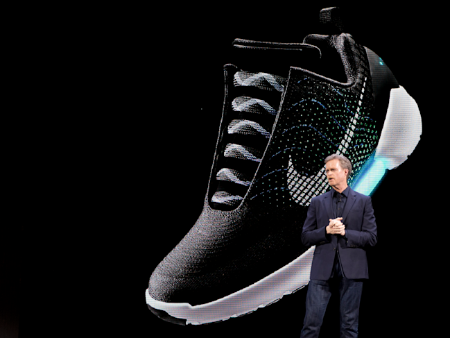 ebd5ff74d235 NIKE CEO  Self-lacing shoes will be as big as self-driving cars