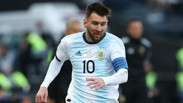 The South American giants will face each other on Friday as Lionel Messi returns, and the Brazilian defender is excited to face Barcelona's talisman