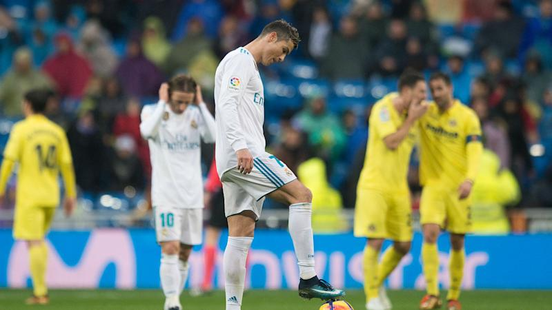 Real Madrid slump to second La Liga loss in three games
