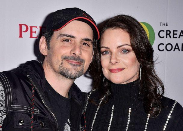 PHOTO: Brad Paisley and Kimberly Williams-Paisley attend the The Creative Coalition's Spotlight Initiative Gala Awards Dinner in Park City, Jan/ 25, 2020. (Sipa USA via AP, FILE)