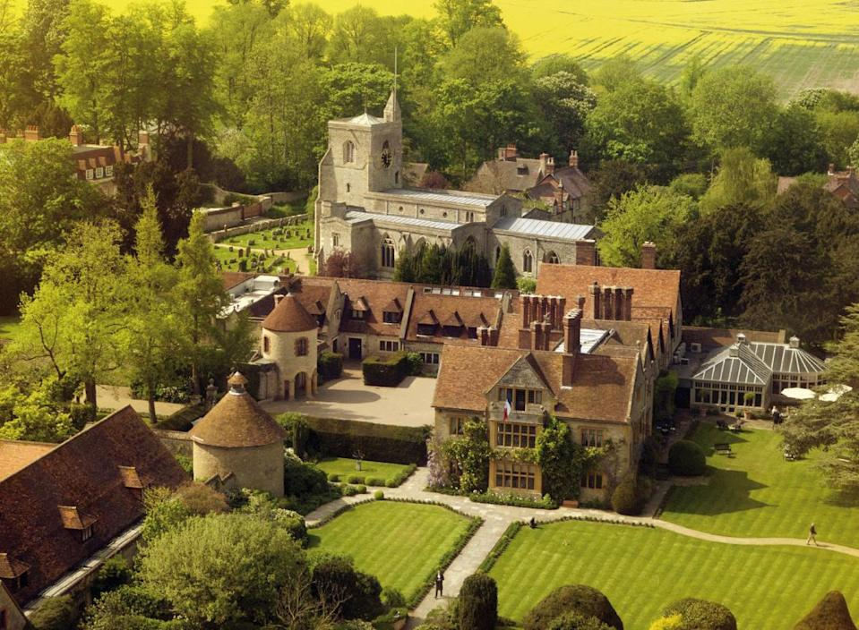 """<p><span>There are 32 rooms and deluxe suites to pick from in this luxury hotel, owned by celebrity chef Raymond Blanc. If the two Michelin starred food isn't enough to win you over, how about a night in <a href=""""http://www.belmond.com/le-manoir-aux-quat-saisons-oxfordshire/garden-one-bedroom-suites"""" rel=""""nofollow noopener"""" target=""""_blank"""" data-ylk=""""slk:a garden suite"""" class=""""link rapid-noclick-resp"""">a garden suite</a>, which could set you back</span><b> £1,680 </b><span>a night. Exuding Provençal charm, it features elegant drapes, floor-to-ceiling windows, exposed beams and a wood-burning fireplace. You get your own terrace and garden, and the bathroom is fitted in polished marble. [Photo: Belmond]</span> </p>"""