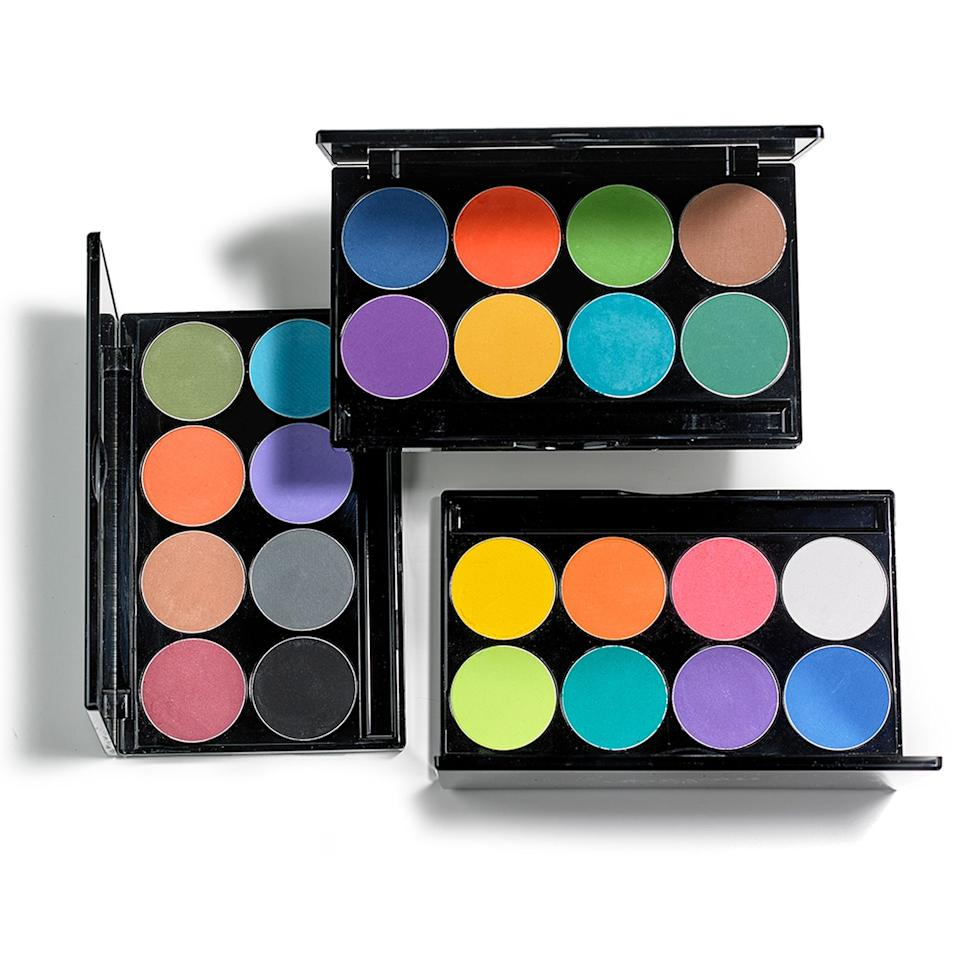 """<h3>Mehron</h3><p>Professional makeup brand Mehron is getting into the Pride spirit by donating 15% of proceeds from the sale of its rainbow-inspired products — including its <a href=""""https://www.mehron.com/intense-pressed-powder-pigments/"""" rel=""""nofollow noopener"""" target=""""_blank"""" data-ylk=""""slk:multicolored pigments"""" class=""""link rapid-noclick-resp"""">multicolored pigments</a>, <a href=""""https://www.mehron.com/paradise-aq-glitter/"""" rel=""""nofollow noopener"""" target=""""_blank"""" data-ylk=""""slk:glitters"""" class=""""link rapid-noclick-resp"""">glitters</a>, <a href=""""https://www.mehron.com/paradise-makeup-aq-prisma-blendset-palette/"""" rel=""""nofollow noopener"""" target=""""_blank"""" data-ylk=""""slk:blending set"""" class=""""link rapid-noclick-resp"""">blending set</a>, and <a href=""""https://www.mehron.com/intense-pro-pressed-pigment-palette/"""" rel=""""nofollow noopener"""" target=""""_blank"""" data-ylk=""""slk:pigment palette"""" class=""""link rapid-noclick-resp"""">pigment palette</a> — to the <a href=""""http://www.aliforneycenter.org/"""" rel=""""nofollow noopener"""" target=""""_blank"""" data-ylk=""""slk:Ali Forney Center"""" class=""""link rapid-noclick-resp"""">Ali Forney Center</a>, the nation's largest agency dedicated to LGBTQ+ homeless youth.</p><br><br><strong>Mehron</strong> iNtense Pro Pressed Pigment Palette, $44.95, available at <a href=""""https://www.mehron.com/intense-pro-pressed-pigment-palette/"""" rel=""""nofollow noopener"""" target=""""_blank"""" data-ylk=""""slk:Mehron"""" class=""""link rapid-noclick-resp"""">Mehron</a>"""