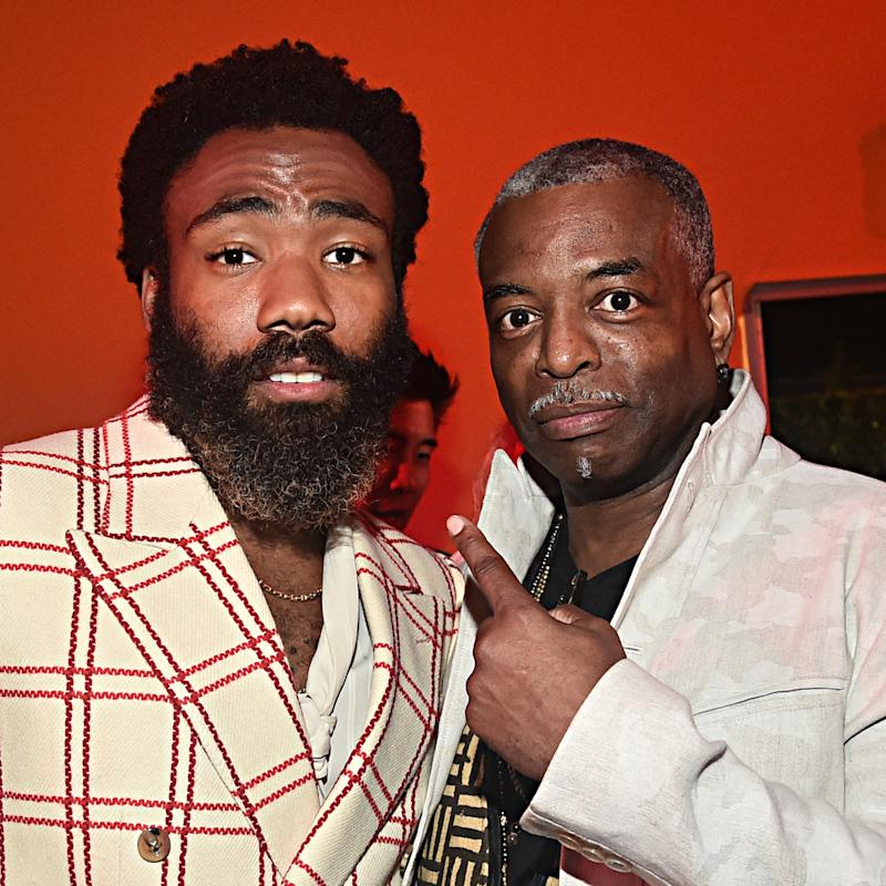 Donald Glover e LeVar Burton (Foto: Alberto E. Rodriguez/Getty Images for Disney)