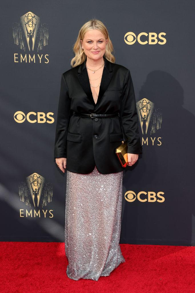 Amy Poehler attends the 73rd Primetime Emmy Awards on Sept. 19 at L.A. LIVE in Los Angeles. (Photo: Rich Fury/Getty Images)