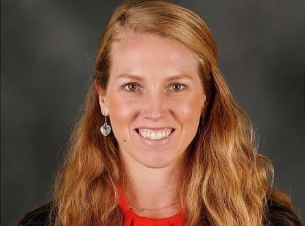Alyssa Nakken is the first woman hired by an MLB coaching staff. (Courtesy/San Francisco Giants)