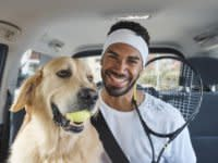 You'll soon be able to take your pet in an Uber in Australia – but it'll cost you a little extra