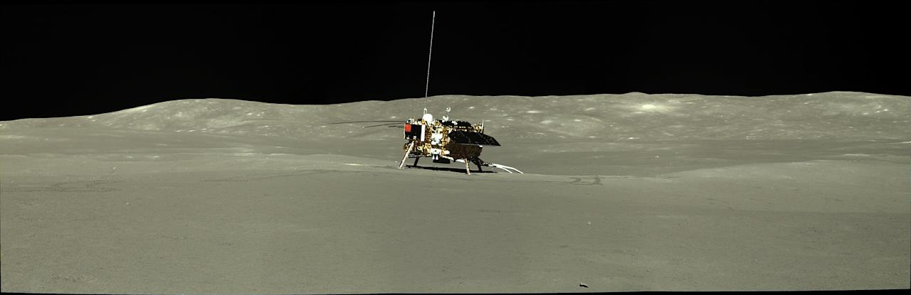"""<p>China's Lunar Exploration Program has <a href=""""http://moon.bao.ac.cn/pubMsg/detail-CE4EN.jsp"""" target=""""_blank"""">released</a> a ton of new data gathered by the Chang'e 4 mission during its first and second lunar days. The China National Space Administration (CNSA) dropped more than 12,000 files on January 3, all collected by the lander and rover's five scientific payloads. CNSA later <a href=""""http://moon.bao.ac.cn/pubMsg/detail-CE4EN-High.jsp"""" target=""""_blank"""">released</a> a bundle of hi-res files.<br></p><p>China's space agency has <a href=""""https://www.popularmechanics.com/space/moon-mars/a6545/china-moon-military-war-in-space/"""" target=""""_blank"""">ambitious plans</a> for the moon, and hopes to establish a permanent presence there by the 2030s. The agency was the first to land on the dark side of the moon, when the Chang'e 4 lander successfully touched down on the lunar surface on January 3, 2019.</p><p>The accompanying lander, Yutu-2, rolled out on the moon shortly after landing on the surface, and set out to make a number of <a href=""""https://www.popularmechanics.com/space/moon-mars/a14531/the-moon-has-a-richer-history-than-thought/"""" target=""""_blank"""">important scientific observations</a>. Last July, Yutu-2 discovered a mysterious substance on the lunar surface, intriguing planetary scientists around the world.</p><p>Now, amateur and professional astronomers are working to process this data, and so far, the images are breathtaking. Doug Ellison, an engineering camera payload uplink lead at NASA, and astronomer Ye Quanzhi of the University of Maryland, posted some of the processed images to Twitter.  Here are a few of the coolest.</p>"""