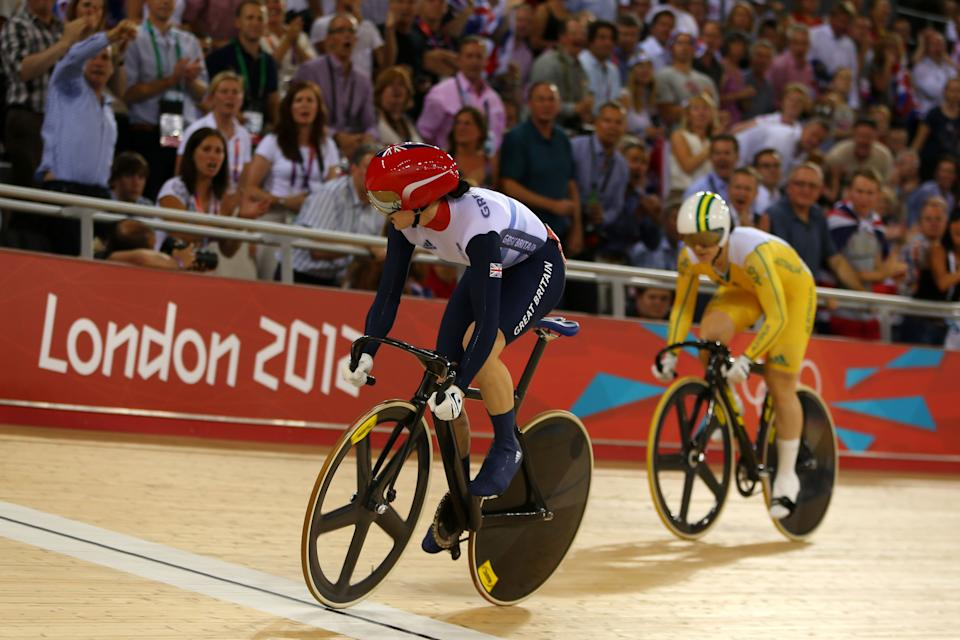 Victoria Pendleton won two gold medals at London 2012. (Credit: Getty Images)