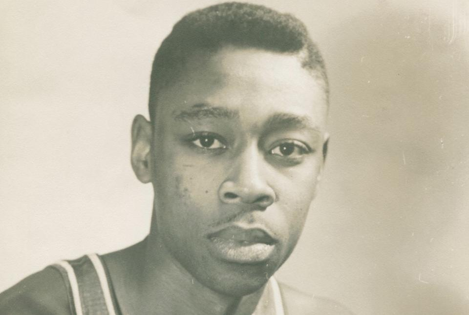 Jim Tucker was a pioneering player for the NBA's Syracuse Nationals. (Courtesy of the Tucker family)