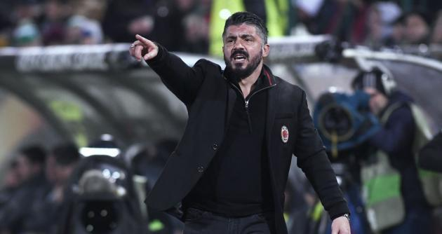 <p>Gattuso 'angry' with attack despite comfortable Milan win at Ludogorets</p>