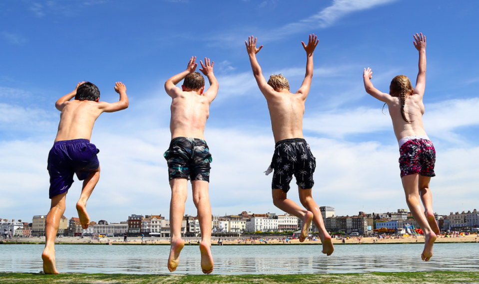 <em>Britain is set for a scorching end to June as temperatures soar (Getty)</em>