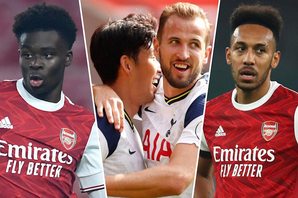 <p>Harry Kane makes our combined teams - but could miss out against Arsenal on Sunday</p> (Getty Images/Getty Images/Getty Images)