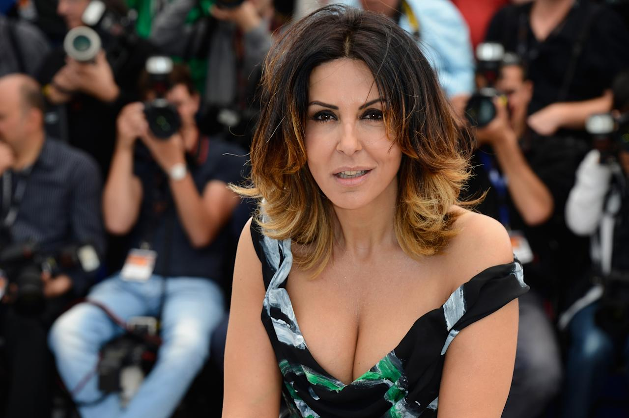 CANNES, FRANCE - MAY 21:  Actress Sabrina Ferilli attends the 'La Grande Bellezza' Photocall during The 66th Annual Cannes Film Festival at the Palais des Festivals on May 21, 2013 in Cannes, France.  (Photo by Pascal Le Segretain/Getty Images)