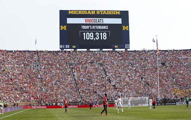 2014 : Largest Crowd to Watch Soccer Game in the U.S.