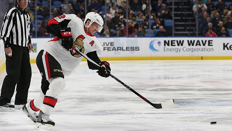 Senators sending veteran Dion Phaneuf to Kings