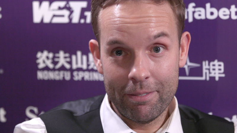 Ali Carter is hoping to end his long wait for a Triple Crown title in Sunday's Masters final