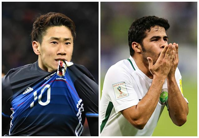 The Samurai Blue and the Green Falcons both won on Tuesday night, leaving Australia with some work to do in World Cup qualifying