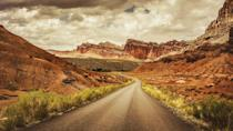 """<p><strong>The Drive:</strong> The """"Scenic Drive"""" through <a href=""""https://www.tripadvisor.com/Attraction_Review-g143017-d212117-Reviews-Capitol_Reef_National_Park-Capitol_Reef_National_Park_Utah.html"""" rel=""""nofollow noopener"""" target=""""_blank"""" data-ylk=""""slk:Capitol Reef National Park"""" class=""""link rapid-noclick-resp"""">Capitol Reef National Park</a></p><p><strong>The Scene:</strong> While you can certainly explore this national park by hiking or horseback riding, we recommend taking it in via the comforts of your car. Drive through the heart of this 100-mile park on the """"Scenic Drive"""" route, which begins at the visitor's center. Though it's a relatively short drive (less than 10 miles), you should expect to spend several hours on it if you want to see all eleven park landmarks on the way. And if you love what you see, you can extend your trip by driving the Cathedral Valley Loop.</p><p><strong>The Pit-Stop:</strong> Make a quick stop at <a href=""""https://www.tripadvisor.com/Attraction_Review-g143017-d3475336-Reviews-Capitol_Gorge_Trail-Capitol_Reef_National_Park_Utah.html"""" rel=""""nofollow noopener"""" target=""""_blank"""" data-ylk=""""slk:Capitol Gorge"""" class=""""link rapid-noclick-resp"""">Capitol Gorge</a>, a nearby canyon that offers the perfect place for photos. </p>"""