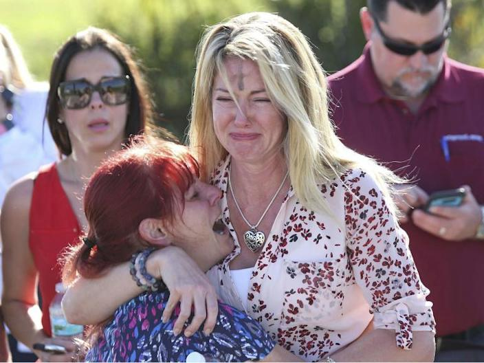 Florida shooting: 17 dead in 'absolutely pure evil' high school massacre in Parkland - as it happened