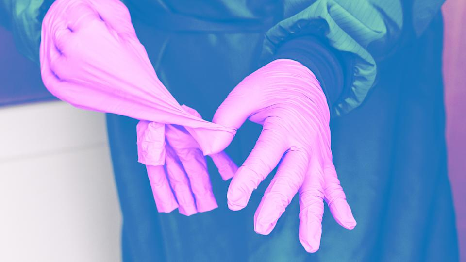 """<h1 class=""""title"""">Protective Latex Gloves</h1><cite class=""""credit"""">Getty Images/Designed by Bella Geraci</cite>"""