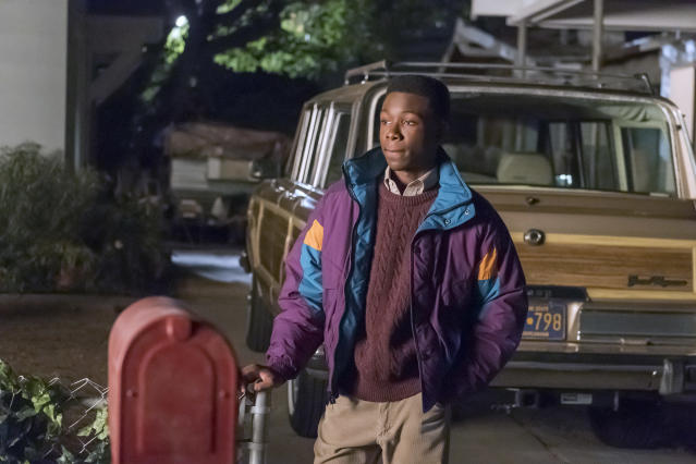 <p>Niles Fitch as Randall in NBC's <i>This Is Us</i>. <br><br>(Photo: Ron Batzdorff/NBC) </p>