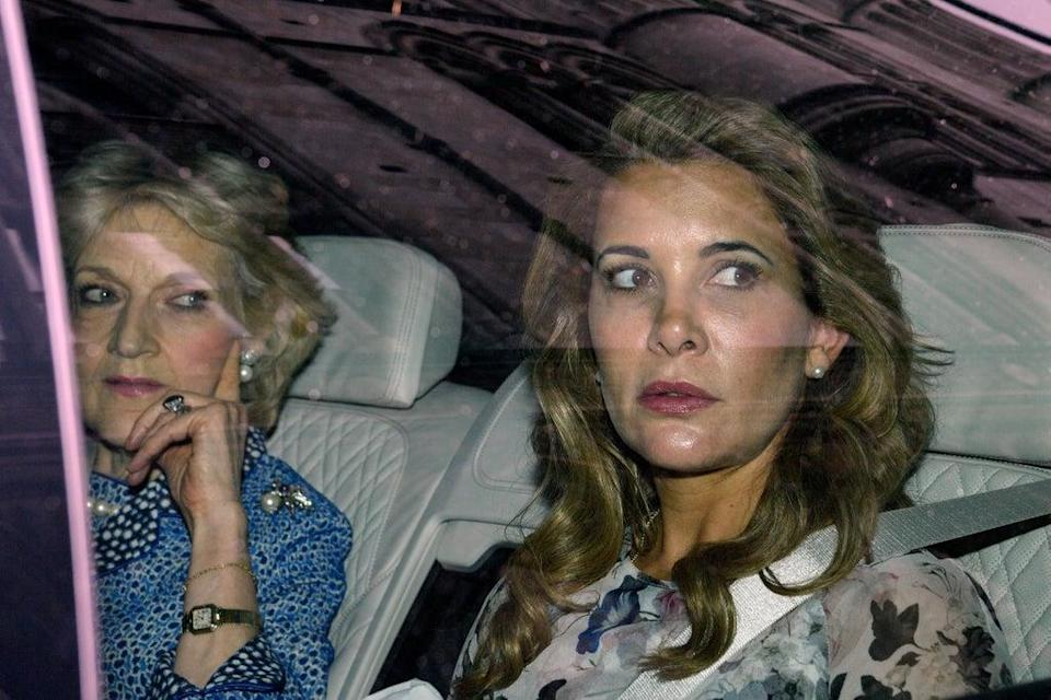 The Princess broke free from her marriage in April 2019, fleeing to the UK with children Sheikha Jalila and Sheikha Zayed (Getty Images)