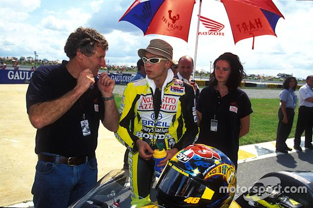 """Valentino Rossi, Honda <span class=""""copyright"""">Gold and Goose / Motorsport Images</span>"""