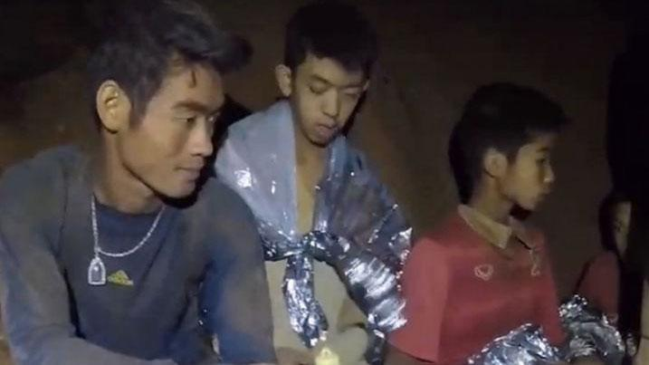 Thai boys recuperate in hospital