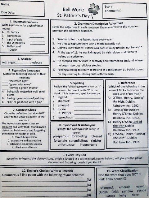 confusing worksheet for students