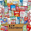 """<p><strong>CRAVEBOX</strong></p><p>amazon.com</p><p><strong>$23.95</strong></p><p><a href=""""https://www.amazon.com/dp/B01N22CM3F?tag=syn-yahoo-20&ascsubtag=%5Bartid%7C10070.g.36467619%5Bsrc%7Cyahoo-us"""" rel=""""nofollow noopener"""" target=""""_blank"""" data-ylk=""""slk:Shop Now"""" class=""""link rapid-noclick-resp"""">Shop Now</a></p><p>One thing I miss about college are the care packages from family and friends. Replicate the experience with this jam-packed snack box filled with all kinds of tasty treats.</p>"""