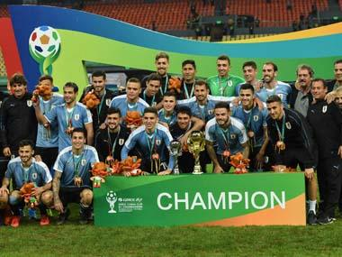 Cristhian Stuani scores third goal in two games as Uruguay thrash Thailand 4-0 to win China Cup