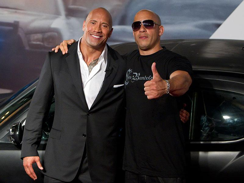 was the fast 8 feud between dwayne johnson and vin diesel a hoax. Black Bedroom Furniture Sets. Home Design Ideas
