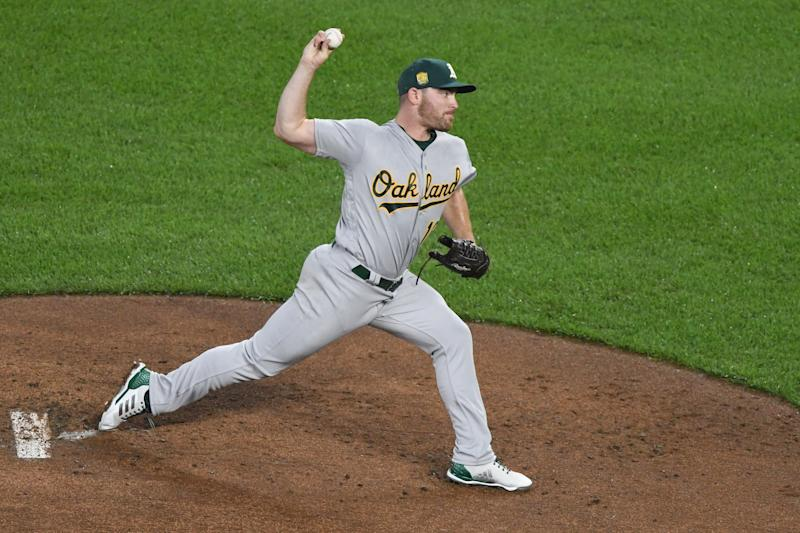 Though fans and Oakland natives may be upset about the Golden State Warriors' move to San Francisco, A's pitcher Liam Hendriks is happy to see them go.