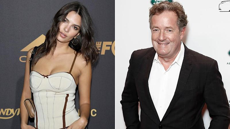 Emily Ratajkowski Claps Back at Piers Morgan's 'Classic Sexism'