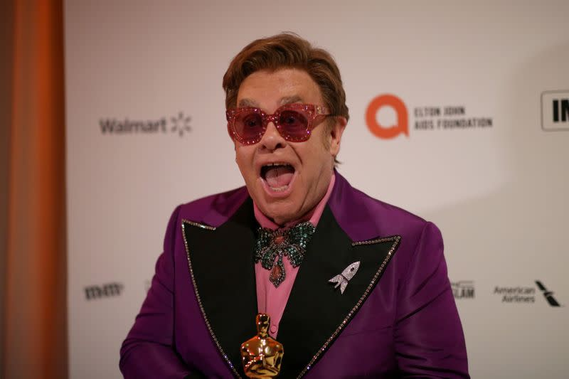 FILE PHOTO: Elton John AIDS Foundation 28th Annual Academy Awards Viewing Party