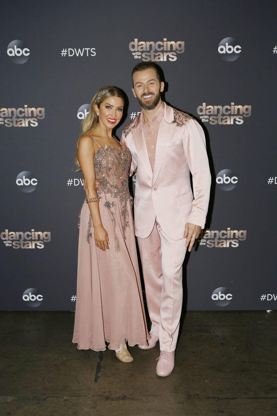 "<p><em>Bachelorette</em> alum Kaitlyn Bristowe has also already suffered an injury just two episodes in to the 29th season. At the start of the show, host Tyra Banks announced that Kaitlyn had yet to make a call if she would dance or not after she injured her ankle in practice.</p><p>""The rest of our cast is ready to light up the ballroom with the exception of one. Just before we went live, Kaitlyn Bristowe was dealing with an ankle injury. So we got to ask, will she pull though?"" Tyra asked as video played of Kaitlyn being checked out by a doctor via <a href=""https://www.etonline.com/dwts-kaitlyn-bristowe-impresses-after-suffering-ankle-injury-just-before-live-show-153530"" rel=""nofollow noopener"" target=""_blank"" data-ylk=""slk:ET"" class=""link rapid-noclick-resp""><em>ET</em></a>. ""We'll find out later. We'll find out live."" </p><p>An hour into the show, Katilyn's dancing partner Artem Chigvintsev revealed that she <em>would </em>be dancing. ""Good news, she's feeling a lot better and she will be dancing tonight,"" he said. </p><p>And Kaitlyn herself spoke before she was set to do the Foxtrot to ""I Hope You Dance"" by Lee Ann Womack. ""I tell myself all the time, 'I'm resilient, this is a dream, I'll dance through anything.' As long as I was cleared to do it, I was happy to do it,"" she told Tyra.</p><p>Katilyn and Artem crushed it, earning a score of 22/30.</p>"