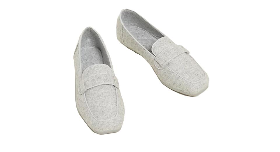 Square Toe Moccasin Slippers