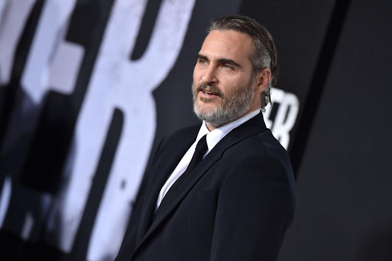 "Joaquin Phoenix attends the premiere of ""Joker"" on Sept. 28 in Hollywood, Calif. (Photo: Axelle/Bauer-Griffin/FilmMagic)"