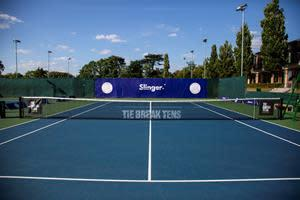 Tie Break Tens announces Slinger Bag as Official Partner