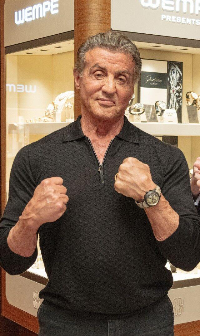 Sylvester Stallone at wempe