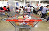 """<p>All Costco members get sent a coupon book every month, and it's a <a href=""""https://www.thedailymeal.com/cook/save-money-gallery?referrer=yahoo&category=beauty_food&include_utm=1&utm_medium=referral&utm_source=yahoo&utm_campaign=feed"""" rel=""""nofollow noopener"""" target=""""_blank"""" data-ylk=""""slk:great resource for the smart shopper"""" class=""""link rapid-noclick-resp"""">great resource for the smart shopper</a>. You don't actually need to bring these coupons in anymore as discounts are automatically applied, but it's good to know what's on sale before you head in.</p>"""