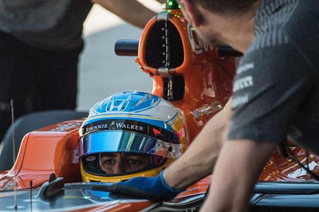 """Fernando Alonso has spoken of his desire to take a crack at the """"Triple Crown"""" of motor-racing - winning the Formula One Monaco Grand Prix, the Indianapolis 500 and Le Mans (AFP Photo/NELSON ALMEIDA)"""