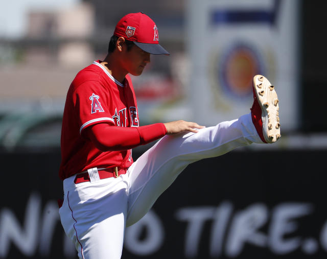 Is Shohei Ohtani still a lock to make the Angels opening day roster? (AP)