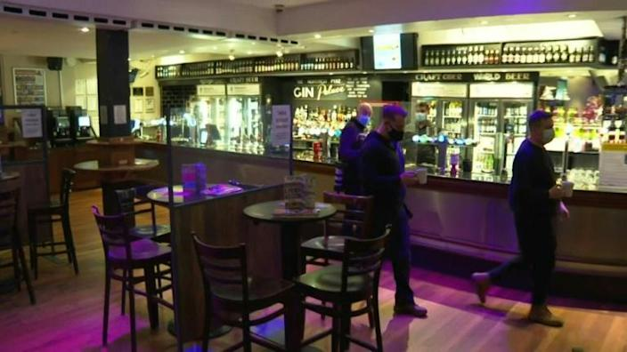 Pubs reopen for indoor service in London as Covid-19 restrictions ease