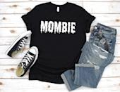 <p>You know what's scarier than a zombie? A Mombie! We're loving Etsy seller LisforLucy's <span>inventive Halloween tee</span> ($16, originally $20), available in four colors.</p>