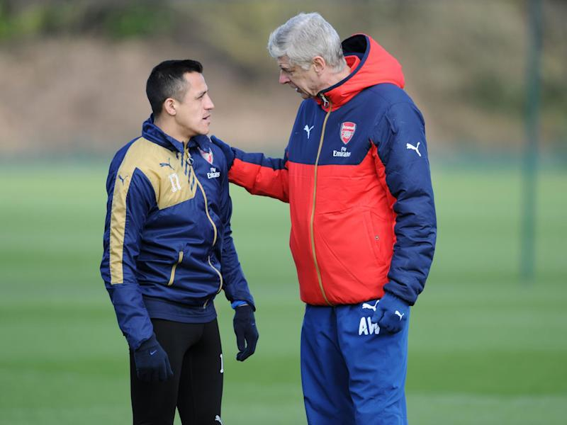 Wenger has said Sanchez will be going nowhere this summer: Getty