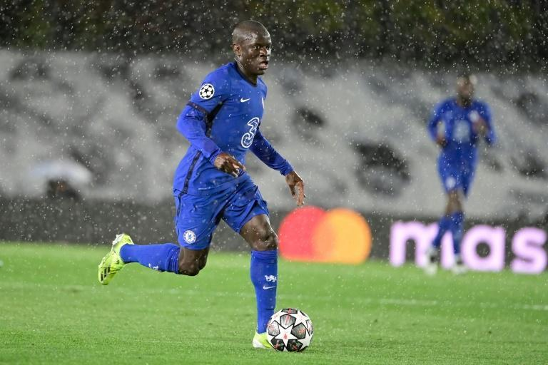 (FILES) N'Golo Kante was outstanding in both legs of Chelsea's semi-final win over Real Madrid and will have a key role to play in Saturday's final against Manchester City in Porto