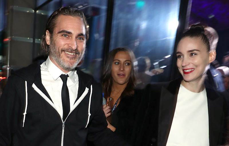 Joaquin Phoenix Thought Rooney Mara Disliked Him When They First Met