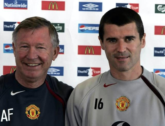 Roy Keane had an acrimonious exit from Old Trafford (Phil Noble/PA)